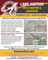 AUCTION 0F 444.66 ACRES OF FARMLAND & HAY/PASTURE LAND RMs OF DAUPHIN & LAKESHORE