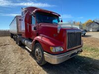 *2007 IH 9200i Eagle t/a hwy tractor, VIN# 2HSCEAPR47C454674, Owner: Gervin Stock Farms Seller: Fraser Auction __________ ***TOD, SAFETIED, KEYS***
