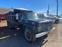 *1965 Ford 700 tag axle grain truck, VIN# 4817074L237238, Owner: Gervin Stock Farms Seller: Fraser Auction_________ ***TOD, KEYS***