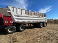 *2003 24' Load Line t/a end dump gravel trailer, VIN# 2D9ED242331012876, Owner: Gervin Stock Farms Seller: Fraser Auction__________ ***TOD, SAFETIED***