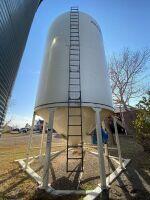 *4000-Bushel Grain Max Hopper Bottom Grain Bin on skid (Bins have until July 2021 to be removed)