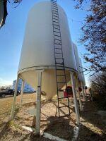 *4000-Bushel Grain Max, hopper bottom bin on skid (Bins have until July 2021 to be removed)