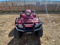 *2007 Honda TRX 500 4x4 ATV