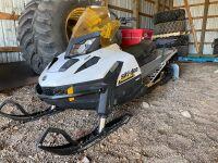 *2017 Ski-Doo Tundra LT6000 REV XU chassis snowmobile
