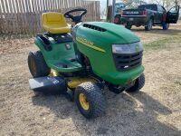 *JD L110 Automatic lawn tractor
