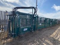 North-Star Hydra Squeeze fully hyd squeeze chute w/palpation cage