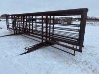 24' Free Standing Windbreak Panel (combo)