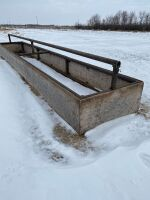 24' Silage Feeder bottomless, drill stem construction