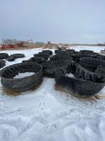 Silage tire feeder