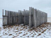 30' Free Standing windbreak panel