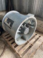 10hp Caldwell aeration fan (needs motor)