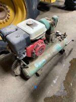 9hp Honda Gas engine air compressor