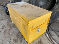 4' steel job box