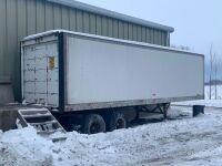 *28' Fruehauf storage van trailer