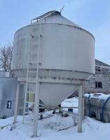 NRW hopper bottom syrup tank