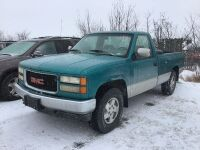 *K65 – 1994 GMC 4x4, 193,000 kms showing, VIN#1GTEK14H1RE531178, (K65) Owner: Rene D Caners Seller: Fraser Auction Service_________ ***TOD, SAFETIED, KEYS***