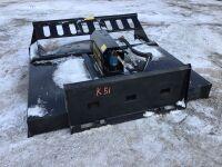 *6' Mower King skid steer brush cutter, s/nSSRC7220091519 (k51)