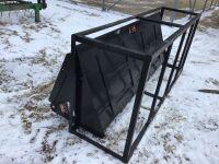 *7' New bucket skid steer mount (K38)