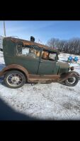 *1928 Ford Model AR coach 2 door, engine serial CA6121 (K65) - ***NO TOD, NO KEYS***