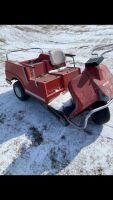 *Harley Davidson golf cart Not running, 2 stroke, no keys (K65)