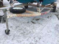 *Homemade Double trailer for jet skis (K65) Owner: Rene D Caners Seller: Fraser Auction Service ____________