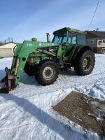 *Deutz DX90 85HP MFW Tractor