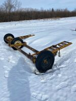 3-wheel swather transport