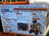 Pressure Washer 4000psi w/ reel (K67)