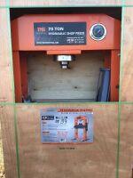 75 ton Shop Press (K67)