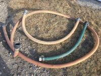 """*2"""" hoses w/couplers"""