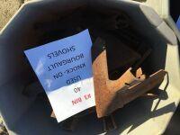 *Used Bourgault knock-on shovels (bin 3)