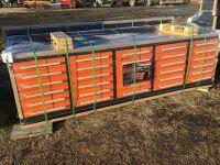 10' 30 drawer Workbench (K67)