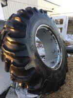 *Good Year Dynatorque-11 (16.9-28) 10-ply tire on rim to fit CaseIH 7220 tractor