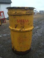 *Shell grease barrel