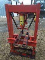 *8-ton hydraulic shop press