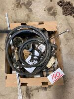 *Case IH swather parts - guards, rivets, canvas joiners, hyd hose & misc
