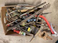 *tools - assorted hand tools