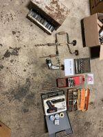 *Drill bits, Brace-N-Bits, spring pins, soldering iron, drill index