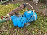 """*2"""" electric Bur-cam water pump, 1hp, 1ph"""
