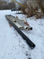 *assorted lengths of tubing (poly and steel)