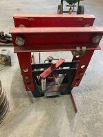 *20-ton hyd press w/shank straightening combo