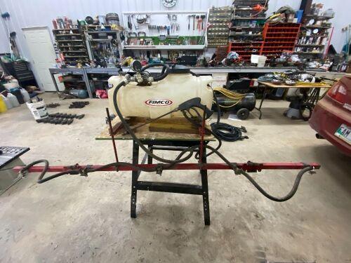 *ATV Estate sprayer w/7' boom, hand wand, 12-volt pump, pressure gauge