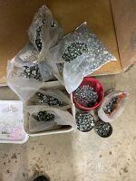 assorted bin bolts