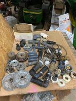 plumbing fittings, belt pulleys