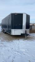 2011 22.5' American Express cargo tandem axle enclosed trailer VIN# 53P1C2022BP900610 Seller:____________________________________