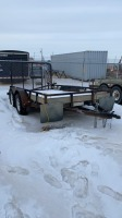 2012 12' Load Trail tandem axle trailer VIN#4ZEUT1225C1020705 SELLER:_________________________________________