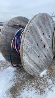 Part spool of 4 wire general cable