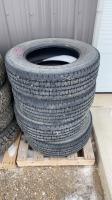 USED Firestone LT245-70R17 tires