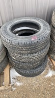 USED Michelin LT 245-70 R 17 tires