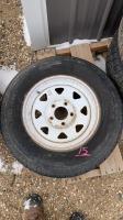 USED Westlake Super ST 205-75R15 Trailer tire
